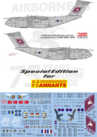 Airbus A400M 'Atlas' Multinational Decal Set #BAB01021S