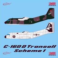 C-160D transalls scheme-1 #DDT-01025