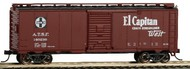 Bachmann  HO 40' Santa Fe Map Boxcar El Captain #140236 BAC16504