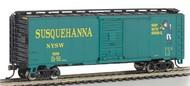Bachmann  N AAR 40' Steel Boxcar New York, Susquehanna & Western Suzy Q BAC17058