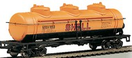 Bachmann  HO 40' 3-Dome Tank Car Shell #1253 BAC17101