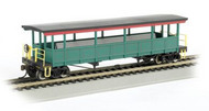 Bachmann  HO O-S Excursion Red/Grn/Gld## BAC17449
