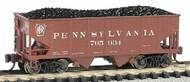 Bachmann  N USRA 55-Ton 2-Bay Outside Braced Hopper Pennsylvania BAC19558