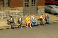 Bachmann  O O Scenescapes Passengers Sitting (6) BAC33161