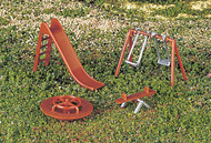 Bachmann  HO Playground Equipment (Cd) BAC42214