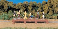 Bachmann  HO Old West Figures (D)<!-- _Disc_ --> BAC42335