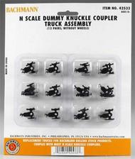 Bachmann  N Dummy Knuckle Coupler Truck BAC42533