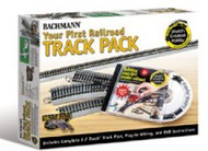Bachmann  HO Your 1st Railroad E-Z Track Pack 4'x8' Layout w/DVD BAC44596