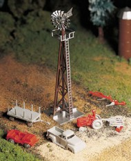 Bachmann  O Windmill w/Farm Machinery Kit BAC45603