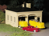 Bachmann  O Fire House W/Vehicles BAC45610
