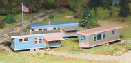 Bachmann  O Trailer Park W/Flag & Pole BAC45612