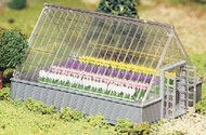Bachmann  O Greenhouse w/Flowers Kit BAC45615