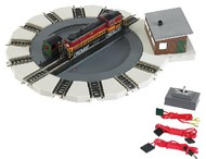 Bachmann  N Motorized Turntable DCC Ready w/Direction Control- Net Pricing BAC46799