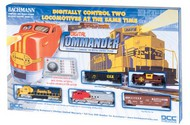 Bachmann  HO Diesel Digital Commander Train Set Santa Fe GP40 & FT Locos DCC Equipped BAC501