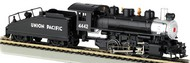 Bachmann  HO USRA 0-6-0 Steam Locomotive w/Smoke & Slope Tender Union Pacific #4442 BAC50603