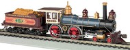 Bachmann  HO 4-4-0 American Steam Locomotive w/Wood Load DCC Ready Union Pacific #119 BAC51002