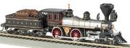 Bachmann  N American 4-4-0 Steam Locomotive & Tender Santa Fe #91- Net Pricing BAC51152