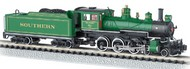 Bachmann  N Baldwin 4-6-0 Steam Locomotive DCC Equipped Southern #1012 (Green w/Gold Stripes)- Net Pricing BAC51458