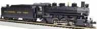 Bachmann  HO Prairie 2-6-2 Steam Locomotive w/Smoke & Tender Baltimore & Ohio #2453 BAC51506