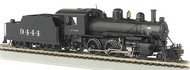 Bachmann  HO Alco 2-6-0 Steam Locomotive DCC Ready ATSF #9444 BAC51710