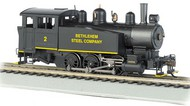 Bachmann  HO 0-6-0 Porter Side Tank Steam Locomotive DCC Equipped Bethlehem Steel #2- Net Pricing BAC52101