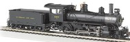 "Bachmann  HO Baldwin 4-6-0 52"" Driver Steam Locomotive DCC Ready Baltimore & Ohio #1357 BAC52202"