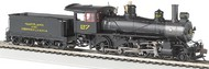 "Bachmann  HO Baldwin 4-6-0 52"" Driver Steam Locomotive DCC Ready Maryland & Pennsylvania #27 BAC52204"