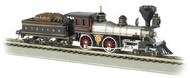 Bachmann  HO 4-4-0 American Steam Locomotive w/Wood Load DCC Sound Santa Fe #91 BAC52704