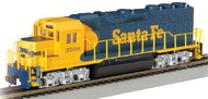 Bachmann  HO GP40 Diesel Locomotive DCC Equipped Santa Fe #3508 (Blue & Yellow) BAC60304