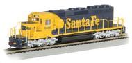 Bachmann  HO EMD SD40-2 Diesel Locomotive DCC Equipped Santa Fe #5020 (War Bonnet Yellow & Blue) BAC60913