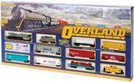 Bachmann  HO Overland Limited Train Set BAC614
