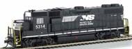Bachmann  HO GP38-2 Diesel Locomotive Norfolk Southern Thoroughbred #5314 BAC61721