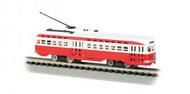 Bachmann  N Pcc Trolley St Louis Rail- Net Pricing BAC62994