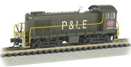 Bachmann  N Alco S4 Diesel Locomotive DCC Equipped ATSF #1528 (Zebra Stripe)- Net Pricing BAC63154