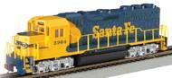 Bachmann  HO EMD GP40 Diesel Locomotive Santa Fe #2926 BAC63526