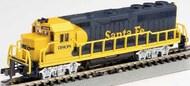 Bachmann  N GP40 Diesel Locomotive w/8-Wheel Drive Santa Fe BAC63563