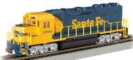 Bachmann  HO EMD GP40 Locomotive DCC Sound Santa Fe #2964 BAC66302
