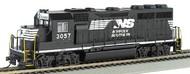 Bachmann  HO EMD GP40 Locomotive DCC Sound Norfolk Southern #3057 BAC66305