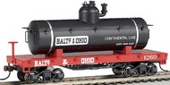Bachmann  HO Old-Time Tank Car Baltimore & Ohio BAC72101