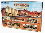 Bachmann  HO Strike Force Train Set BAC752