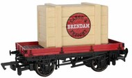 Bachmann  HO HO Thomas & Friends Plank Wagon w/Brendam Cargo & Freight Crate BAC77402