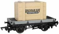Bachmann  HO HO Thomas & Friends Plank Wagon w/Brendam Bay Shipping Co. Crate BAC77403