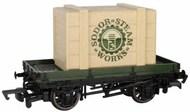 Bachmann  HO HO Thomas & Friends Plank Wagon w/Sodor Steam Works Crate BAC77404