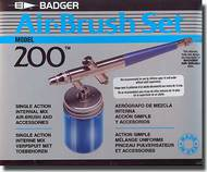 Badger  Airbrush Model 200 Airbrush Set BAD2001
