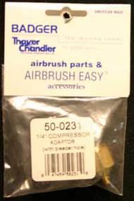 Badger  Compressor 1/4' Compressor Adapter With B BAD500231