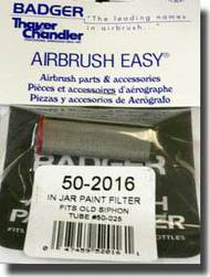 Badger  Filter In Jar Paint Filter (For 50-025 Siphon Tube) BAD502016