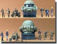 Bandai  1/35 UC Hard Graph Series: Earth Federation (EFGF) Ramba Ral Commando Set BAN146729