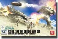 Bandai  1/144 HC Hard Graph Series: MS06 Zaku (Universal Century 0079 One Year War) The Ground War Set BAN157732