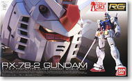 Bandai  1/144 Gundam Real Grade Series: RX78-2 Gundam Close-Combat MoMobile Suit BAN163280