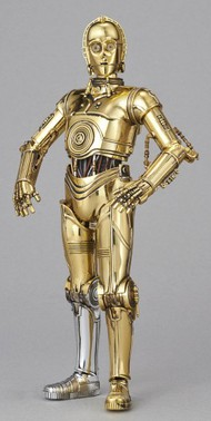 Bandai  1/12 Star Wars: C3PO Droid Figure (Snap) BAN196418